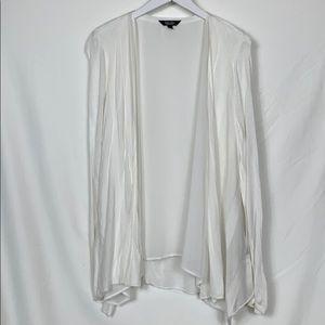 Simply Vera white cardigan sweater size Lg.